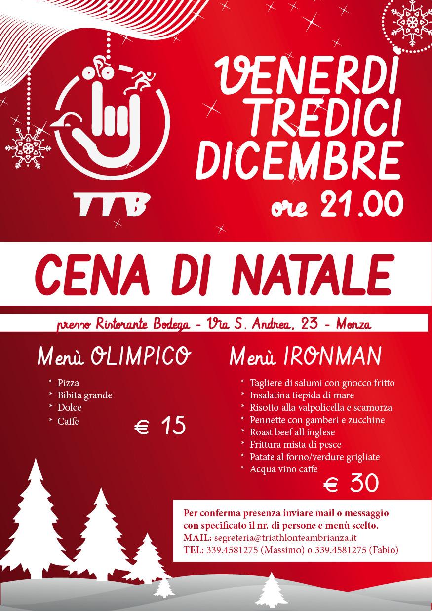 Menu Di Natale Per 30 Persone.Triathlon Team Brianza Cena Di Natale 2013